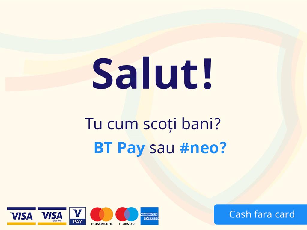 Ecran BT Pay succes retragere cash Desktop
