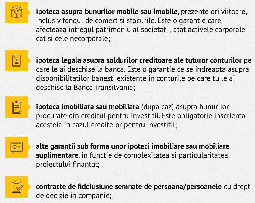 Infografic IMM Invest Modalitati de garantare