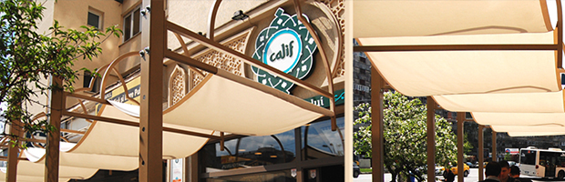 Calif, o afacere romaneasca cu specific oriental, in care prima regula pe care o invata angajatii este sa zambeasca. Business sustinut de BT