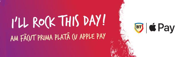 Asteptarea a luat sfarsit: Apple Pay la BT