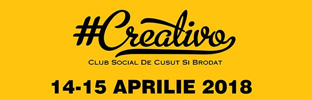 Cel mai mare eveniment dedicat pasionatilor de moda, Creativo, se desfasoara in 14-15 aprilie