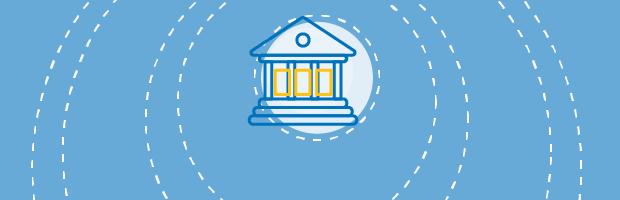 Ilustratie reprezentand Banca Centrala Europeana