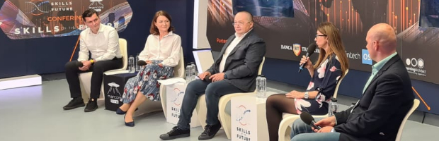 """Nevenca Doca, la conferinta SKILLS of the FUTURE: """"La BT stim ca dimensiunea umana este  diferentiatoare pentru noi, ca institutie financiara."""""""