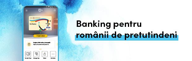 Solutii de self-banking la distanta pentru romanii de pretutindeni