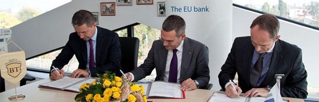 Finantare de 150 de milioane euro pentru BT din partea Bancii Europene de Investitii