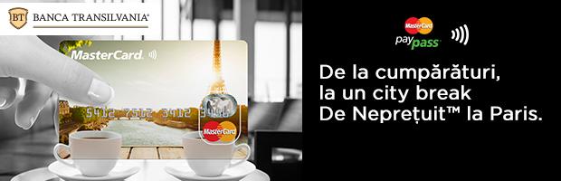 10 city break-uri la Paris. Campanie MasterCard si Banca Transilvania