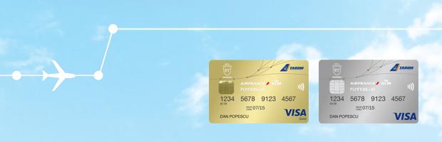 AIR FRANCE KLM, TAROM si Banca Transilvania  lanseaza cardul BT Flying Blue