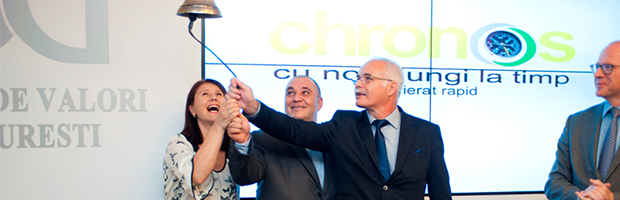 BT Capital Partners intermediaza listarea Chronos Curier pe piata AeRO