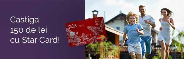 Campanie BT: Castiga 150 de lei cu Star Card