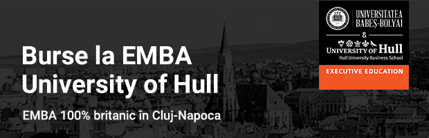 Burse la EMBA-ul 100% britanic din Cluj-Napoca