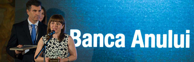 Premii: BT - Banca Anului, Omer Tetik – Bancherul Anului si George Calinescu – Tanarul Bancher al Anului
