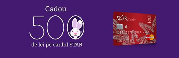 #ConcursBT: Castiga 500 de lei pe cardul STAR