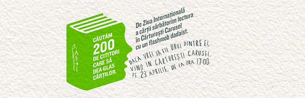#Flashmob Banca Transilvania si Carusel Carturesti
