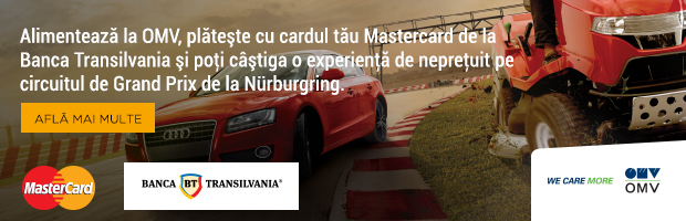 Campanie BT, MasterCard si OMV