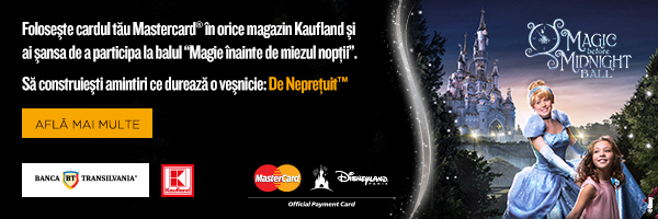 Campanie MasterCard in magazinele Kaufland