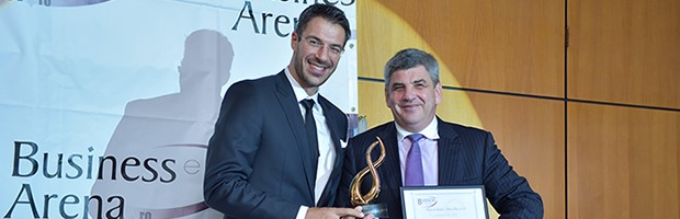"BT was named the ""Bank of the Year"" by the Business Arena Magazine"