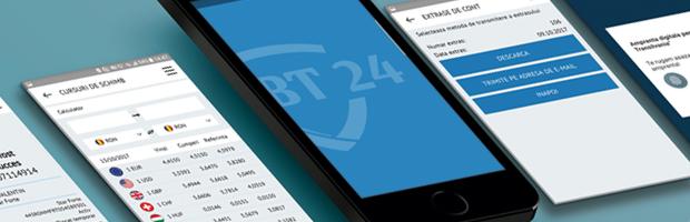 Cei care prefera bankingul pe mobil au optiuni noi pe BT24