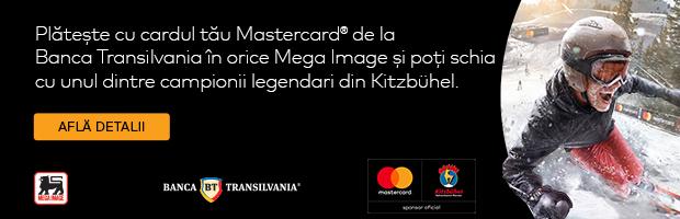 2 pachete duble la Kitzbuhel – premiile campaniei MasterCard & Mega Image
