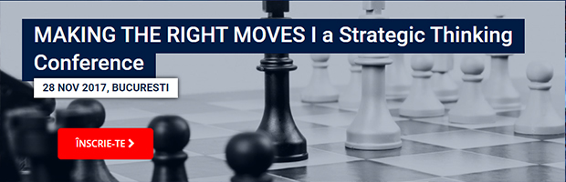BT sustine evenimentul Making the Right Moves. Invitat special: Garry Kasparov, cel mai mare jucator de sah de pana acum