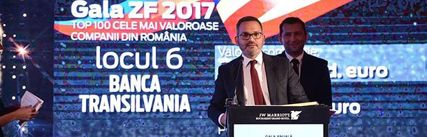 Banca Transilvania, una din cele mai valoroase companii din Romania