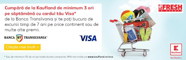 Cumparaturile cu cardul BT Visa aduc premii: vacante anuale, telefoane Iphone X si bilete la Untold sau Neversea