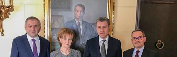 Vizita BT la Palatul Elisabeta