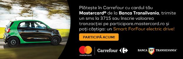 SmartForFour, premiul campaniei BT, MasterCard si Carrefour