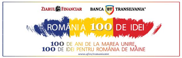 Romania 100 de idei – un proiect editorial marca Ziarul Financiar si Banca Transilvania