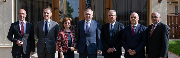Banca Transilvania's Board of Directors re-elected. Mr. Horia Ciorcila was re-elected as the Charmain of Banca Transilvania' BoD for the fifth time
