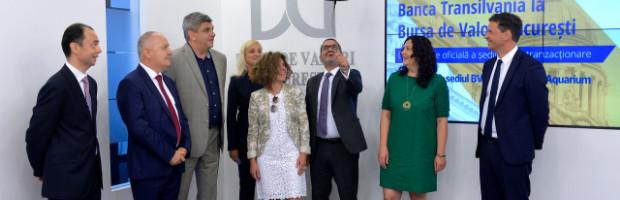 Obligatiunile subordonate ale Bancii Transilvania sunt tranzactionate la Bursa de Valori Bucuresti incepand de azi