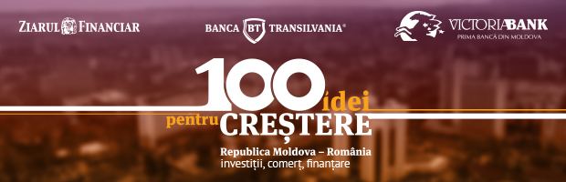 Prima conferinta dedicata antreprenorilor din Republica Moldova, organizata de Ziarul Financiar, BT si Victoriabank