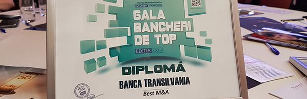 BT si Bancpost, premiate la Gala Bancheri de Top