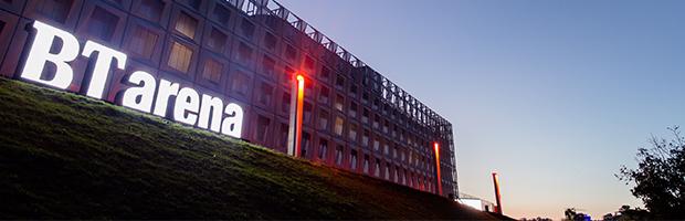 Cea mai mare sala polivalenta din Romania poarta brandul Banca Transilvania: BTarena