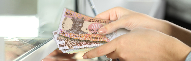 La Banca Transilvania din sase orase din Romania se pot efectua operatiuni cu numerar in lei moldovenesti