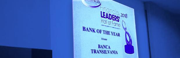 BT a primit premiul Banca Anului in Romania