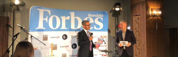 BT, cea mai COOL banca din Romania. Premiu Forbes Romania