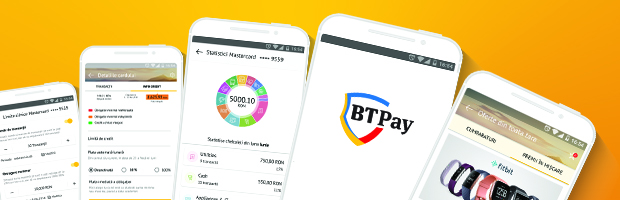 Aplicatia BT Pay, primul wallet bancar din Romania, are 5 functionalitati noi
