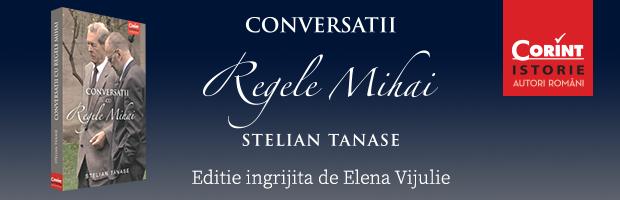 BT sustine seria de lansari in tara a cartii Conversatii cu Regele Mihai