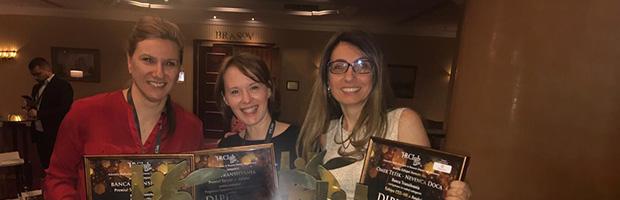 Banca Transilvania, 3 premii la Gala Premiilor de Excelenta in HR