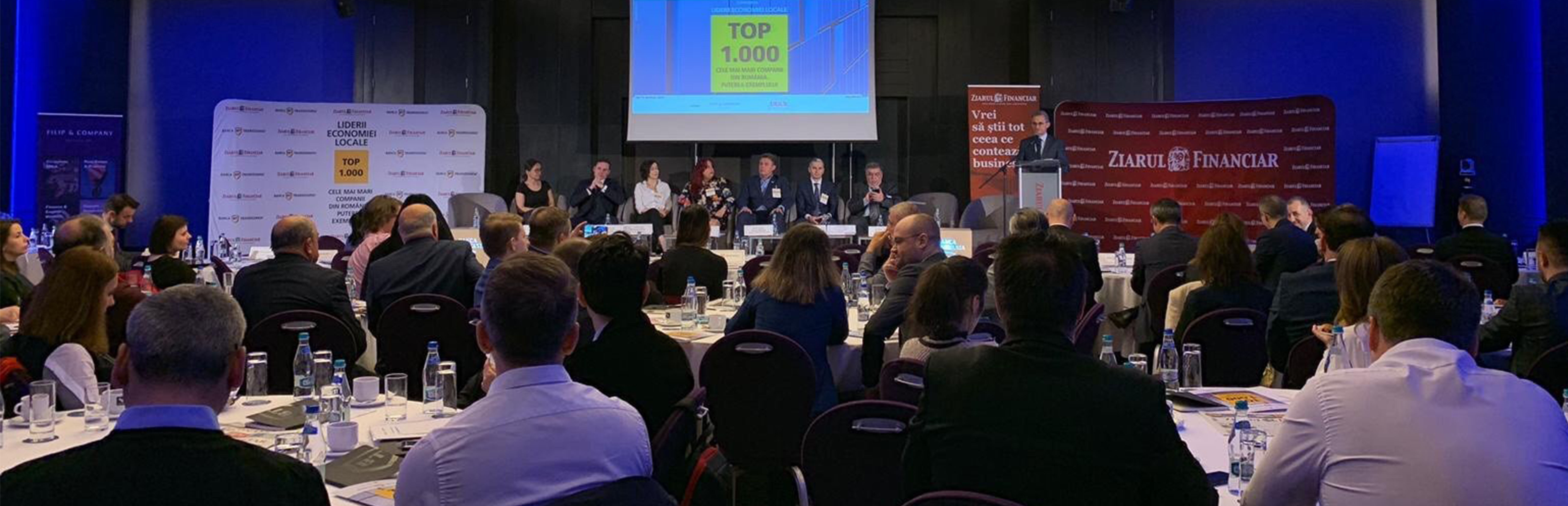 Mesajele BT la conferința ZF, Top 1.000 cele mai mari companii din România. Puterea exemplului