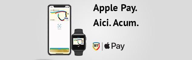 Apple Pay la Banca Transilvania: un mod sigur, rapid si usor de a face plati