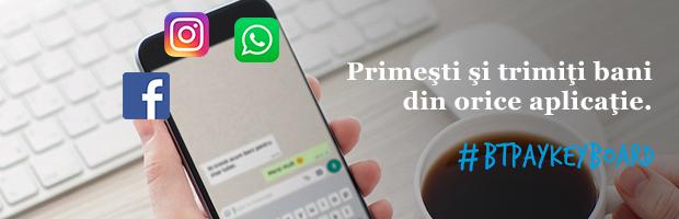 Premiera in Romania: Banca Transilvania aduce bankingul                                          in aplicatiile de mesagerie ale social media