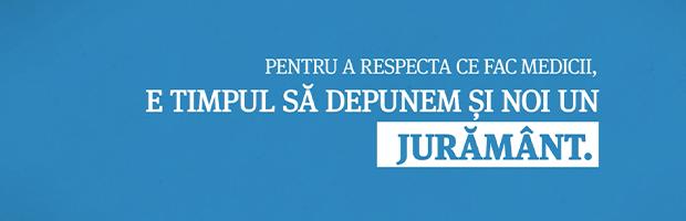 #Initiativa: Din respect pentru medici, #JurSafiuOm