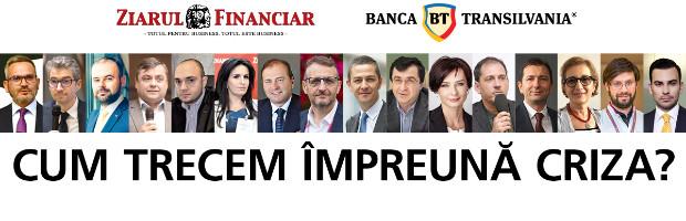 Mesajele antreprenorilor despre repornirea economiei, la conferinta online BT si Ziarul Financiar
