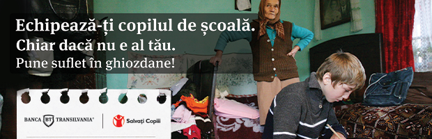 Banca Transilvania and Slavati Copiii (Save the Children) Organization help Children Go to School