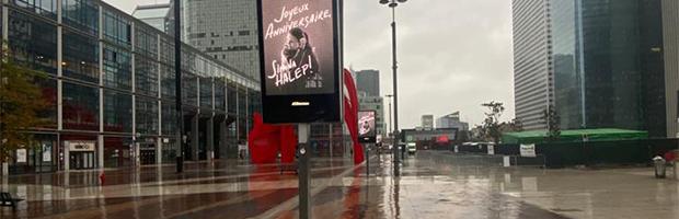 La multi ani pentru Simona Halep! Mesajul Bancii Transilvania si al romanilor a ajuns la Paris