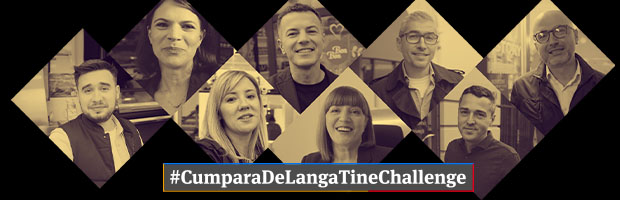 #CumparaDeLangaTine Challenge, an action launched by BT to support the local businesses