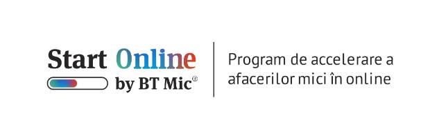 10 clienti BT Mic, parte din programul de accelerare Start Online, se reinventeaza si isi lanseaza azi afacerea online