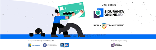 Start of #SigurantaOnline – online safety, a campaign about best practices for the security of personal information and money