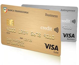Carduri de creditVisa Business Silver sau Gold